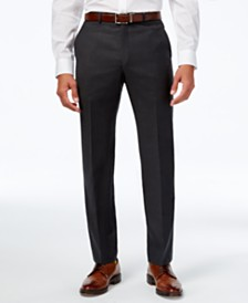 Lauren Ralph Lauren Solid Ultraflex Classic-Fit Dress Pants