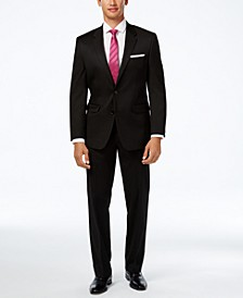 Men's Traveler Solid Big and Tall Classic-Fit Suit Separates, Created for Macy's