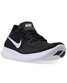 nike women s free run flyknit 2017 running sneakers from finish line