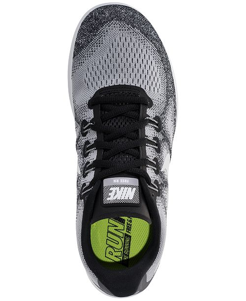 90233ddc5525 Nike Men s Free Run 2017 Running Sneakers from Finish Line   Reviews ...