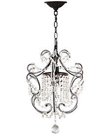Safavieh Luna Single Light Chandelier