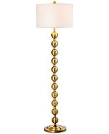 Reflections Gold-Tone Floor Lamp