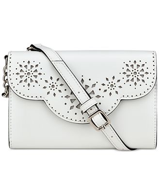 Nine West Aleksei Perforated Convertible Crossbody