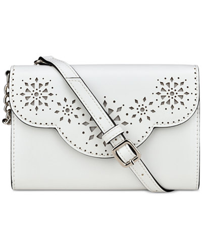 Nine West Aleksei Perforated Crossbody