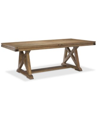 Metalworks Expandable Dining Trestle Table