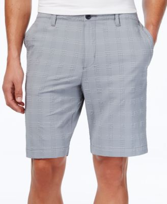 Image of Tommy Bahama Men's On The Green Stretch Textured Plaid Shorts