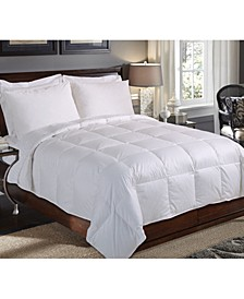 235-Thread Count King White Down Comforter