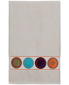 "Creative Bath Dot Swirl 51"" x 27"" Cotton Bath Towel"