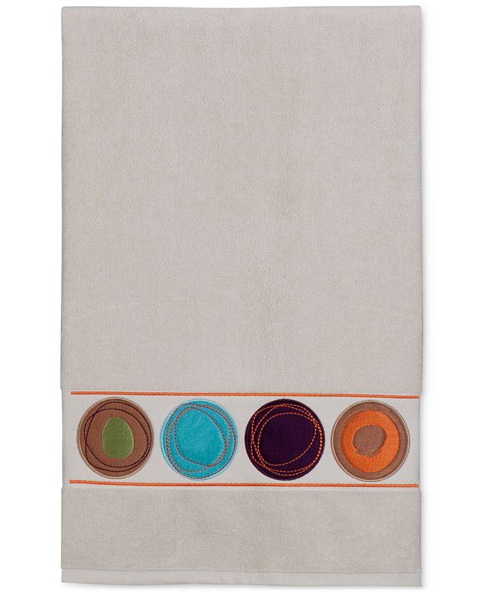"""Creative Bath - Dot Swirl 51"""" x 27"""" Cotton Bath Towel"""