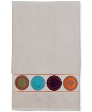 Creative Bath Dot Swirl 51 x 27 Cotton Bath Towel Bedding