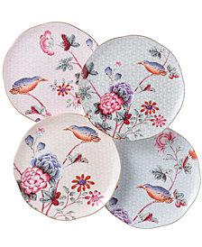 Wedgwood Set of 4 Cuckoo Tea Plates