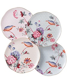 Wedgwood Set of 4 Cuckoo Tea Plates