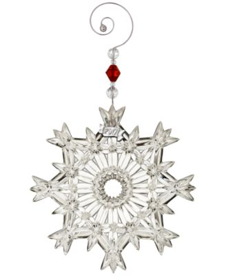 Waterford Christmas Ornaments Online - Macy's