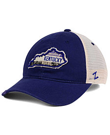 Zephyr Kentucky Wildcats Roadtrip Patch Mesh Cap