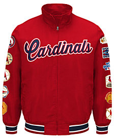 G-III Sports Men's St. Louis Cardinals Victory Comm Jacket