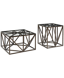 CLOSEOUT! Linden Table Furniture Set, 2-Pc. Set (Coffee Table & End Table)