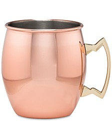 Copper Moscow Mule Mug with Classic Handle
