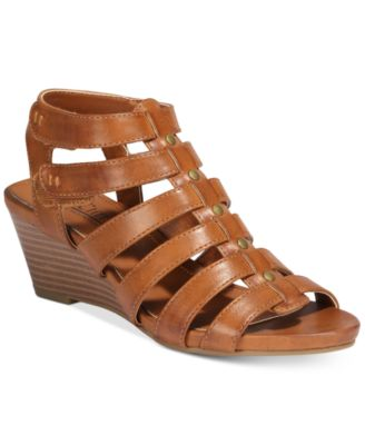 Image of Cliffs By White Mountain Vivaldi Gladiator Wedge Sandals