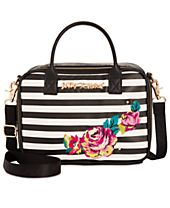 Betsey Johnson Embroidery Small Lunch Tote, a Macy's Exclusive Style