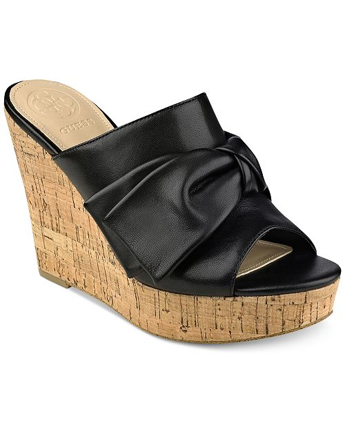 dd058c347ab GUESS Women s Hotlove Platform Wedges   Reviews - Sandals ...