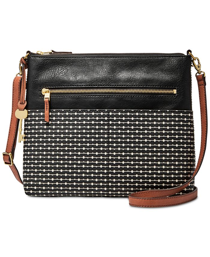 Fossil - Fiona Printed Medium Crossbody