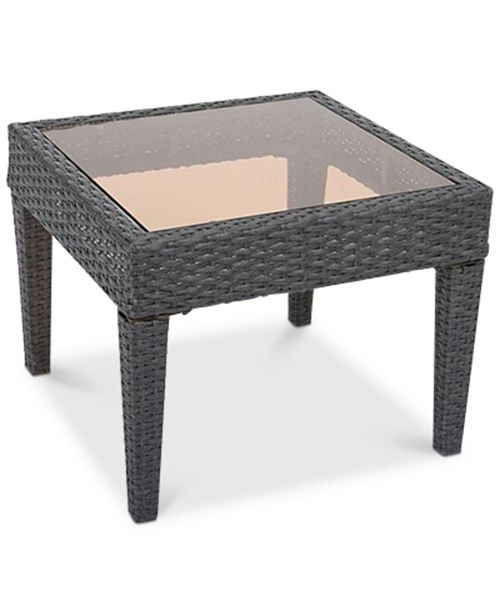 Furniture Holtan Square Accent Table, Quick Ship