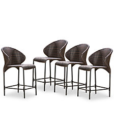 Aldin Counter Stool (Set Of 4), Quick Ship