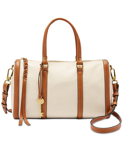 Fossil Kendall Small Satchel - Handbags & Accessories - Macy's