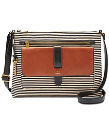 Fossil Kinley Medium Stripe Crossbody