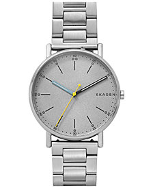 Skagen Men's Signature Stainless Steel Bracelet Watch 40mm SKW6375