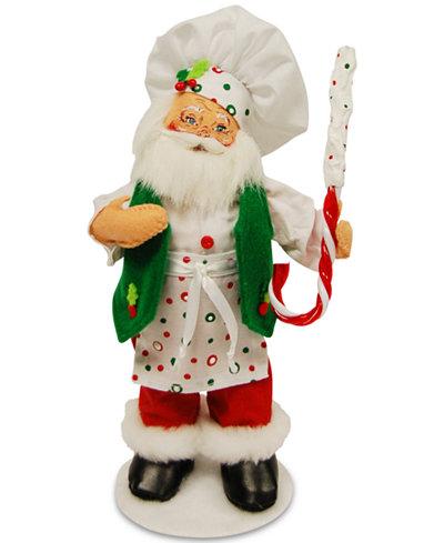 Annalee Holiday Baking Chef Santa