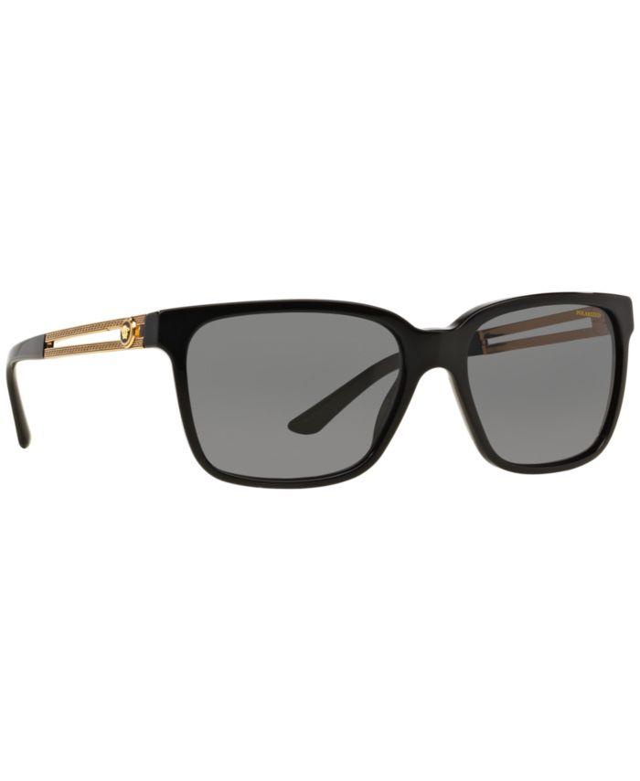 Versace Polarized Sunglasses , VE4307 58 & Reviews - Sunglasses by Sunglass Hut - Men - Macy's