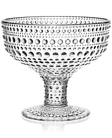 Kastehelmi Clear Footed Bowl