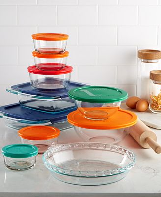Pyrex 19 Piece Baking Storage Set Created For Macy S Bakeware