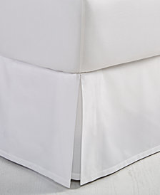 Hotel Collection Cotton Ladder Stitch Pique Queen Bedskirt, Created for Macy's