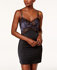 Lace Affair Lace & Satin Chemise 812256