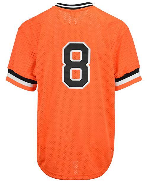 premium selection 30eeb ef545 Men's Cal Ripken Jr. Baltimore Orioles Authentic Mesh Batting Practice  Jersey