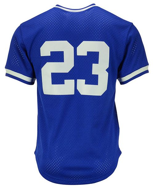 newest collection a4201 cb1e2 Men's Ryne Sandberg Chicago Cubs Authentic Mesh Batting Practice Jersey