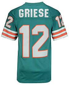 Mitchell & Ness Men's Bob Griese Miami Dolphins Replica Throwback Jersey