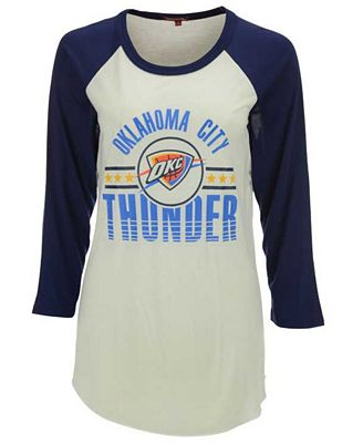 Mitchell & Ness Women's Oklahoma City Thunder Victory Raglan T-Shirt