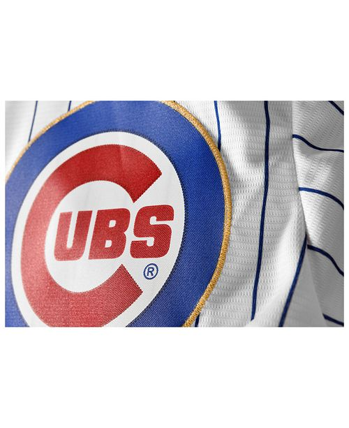 promo code b8f50 a2f82 Majestic Men's Anthony Rizzo Chicago Cubs World Series Gold ...