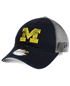 New Era Michigan Wolverines Team Rustic 9TWENTY Cap