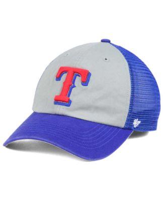 5b53538d699 ... release date 47 brand texas rangers ravine closer cap sports fan shop  by lids men macys