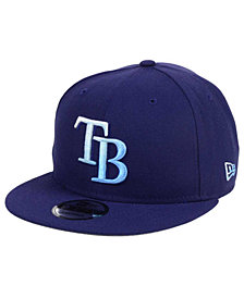 New Era Tampa Bay Rays Color Dim 9FIFTY Snapback Cap