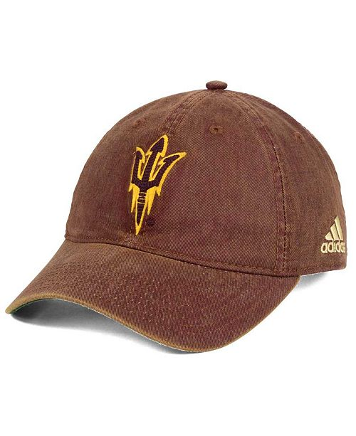 adidas Arizona State Sun Devils Over Dye Slouch Cap