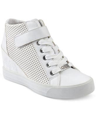 fa490c20500 GUESS Women s Decia Wedge Sneakers   Reviews - Sneakers - Shoes - Macy s