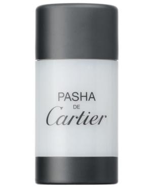 Cartier Mens Pasha de Cartier Deodorant Stick, 2.5 oz.