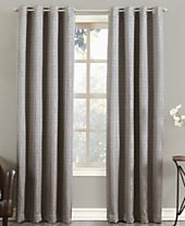 Sun Zero Tyrell Greek Key Blackout Lined Grommet Curtain Panel Collection