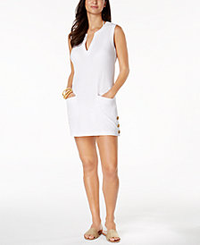 Lauren Ralph Lauren Sleeveless Cotton Cover-Up