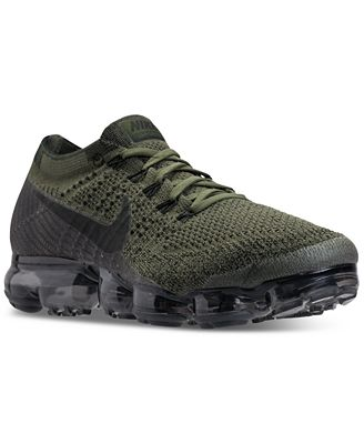 Nike Air VaporMax Flyknit Men's Running Shoes Cargo